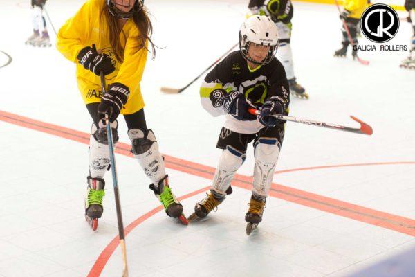 hockey linea coruña Galicia rollers