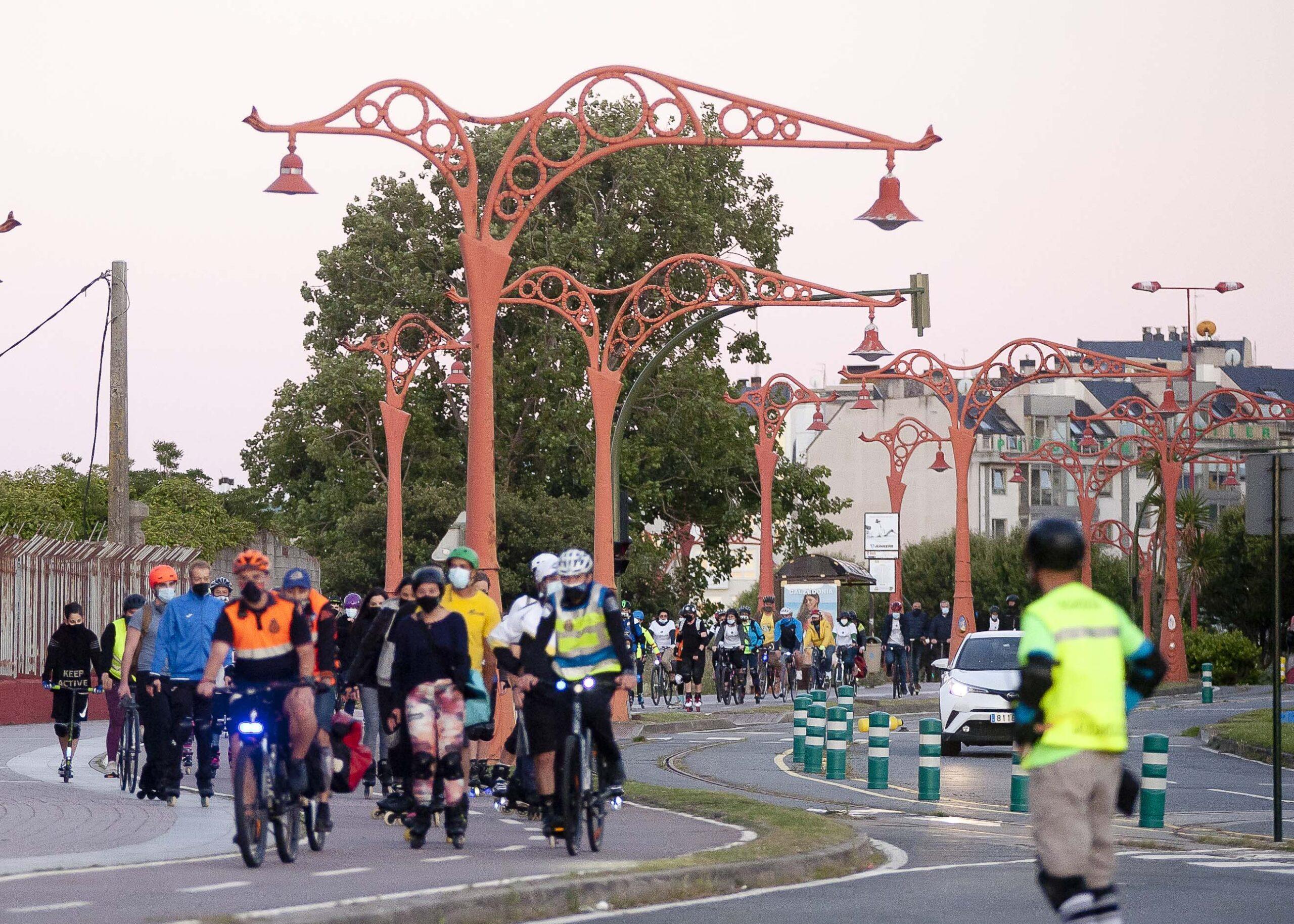 Más de 100 participantes en el primer Friday Mobility Night
